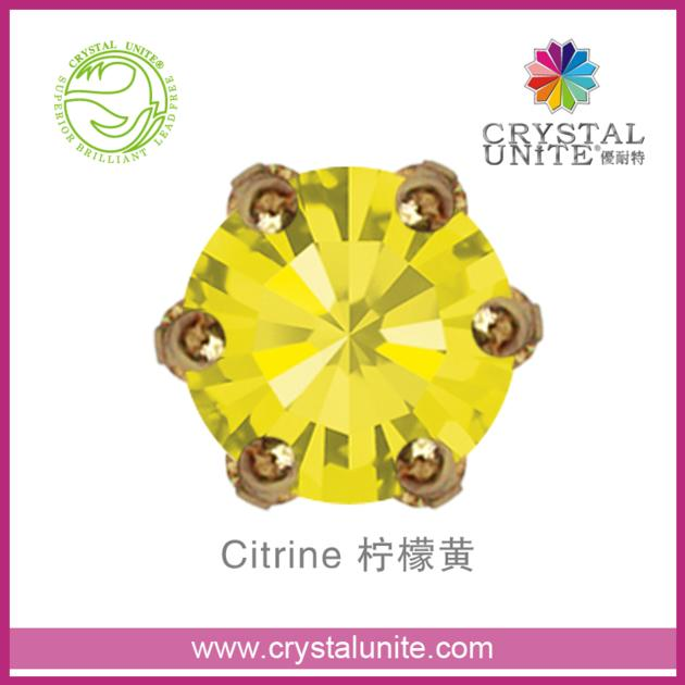 Crystal Unite Sew On Stone In