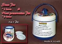 Plastic Heat Preservation Pot