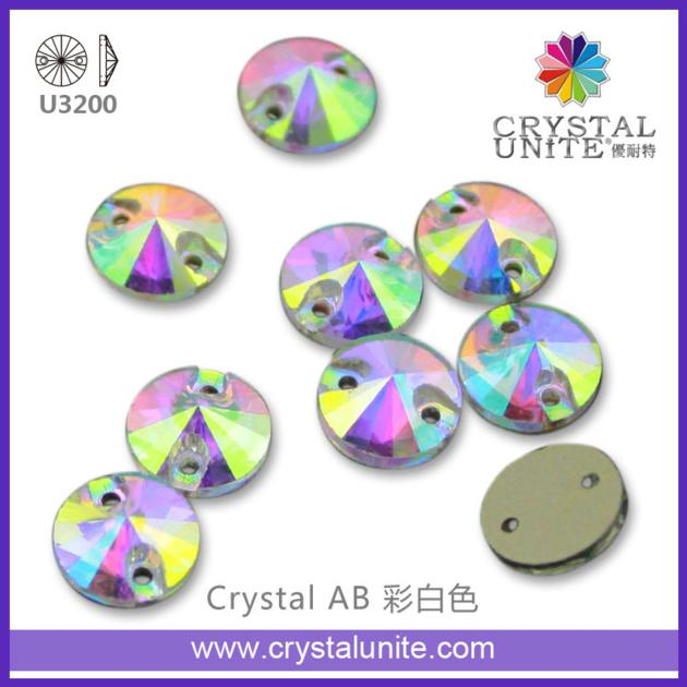 Crystal Unite Sew on stone