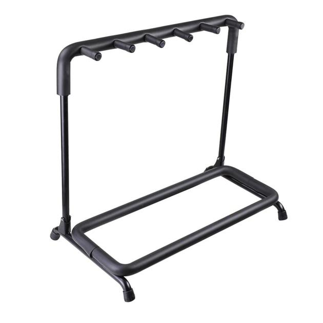 Hot sale portable folding multi guitar stand