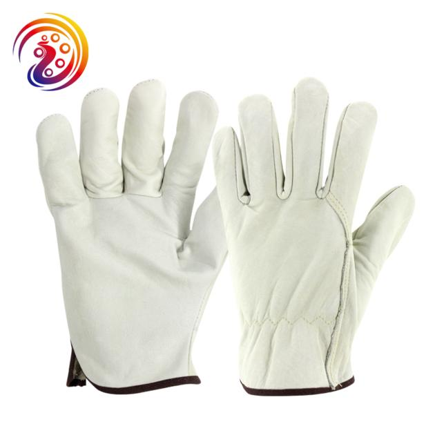 cow split leather weld baking grill hand protection Gloves/Oven Mitts