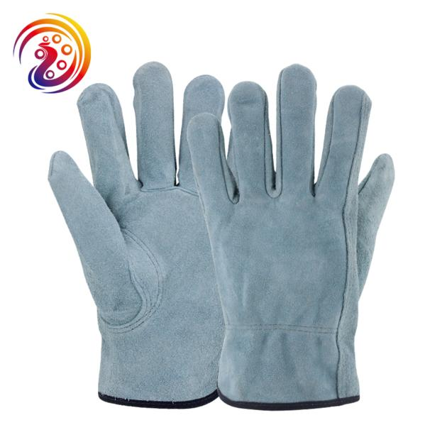 pigskin transport carrying factory driving gardening protective safety work gloves