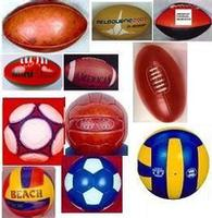 Sports balls inflatable