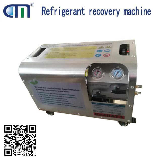 CMEP-OL ac evacuation pump refrigerant recovery machine anti