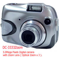 Digital Camera 6.6mega Pixels