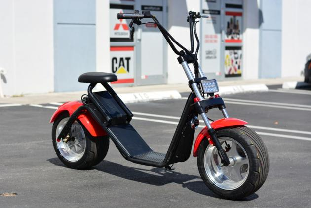 Harley Two Lithium 1000w 60v Electric Big Wheel Scooter
