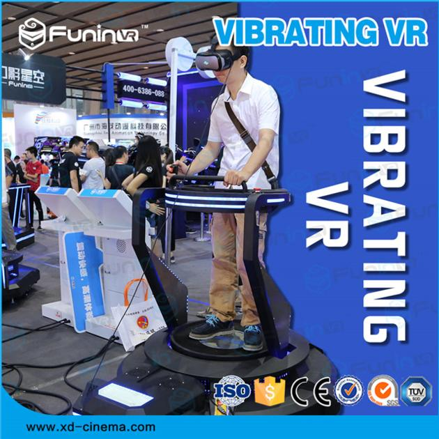 2017 hot selling Vibrating Virtual Reality machine for sale