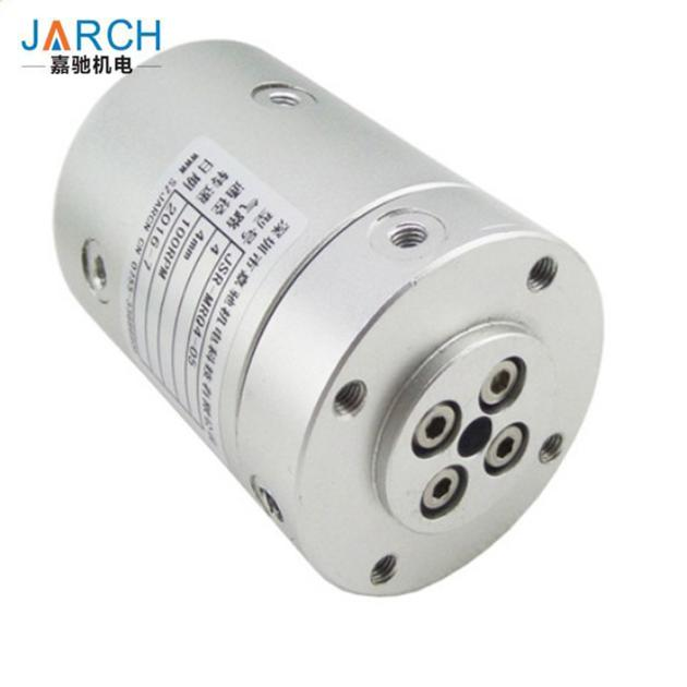 Multi Passage Pneumatic Hydraulic High Pressure Rotary Union With 1.1Mpa Pressure , Round Shape Join
