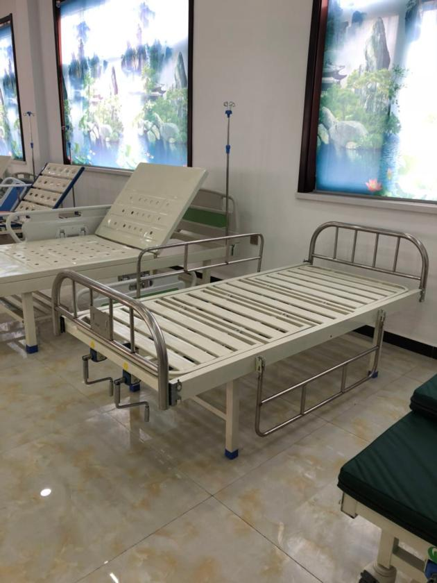 two cranks manual hospital bed for sale