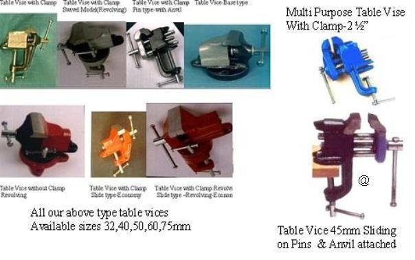 Table Vice various type mini size