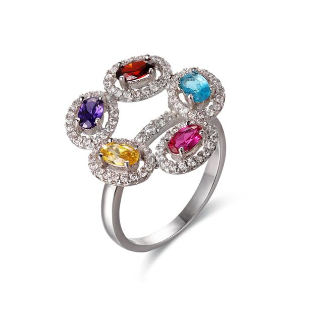 chinese jewellery suppliers good quality gemstone rings designer silver costume jewellery