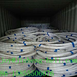 zinc coated steel wire for fishing net/fishing cage1.18mm1.06mm factory