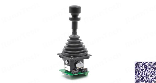 RunnTech Heavy Duty 2 Axis Mechanical Friction Hold Joystick with +10V Analog Output