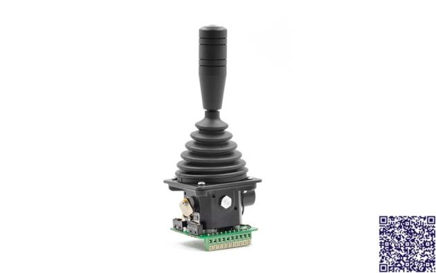 RunnTech Single-axis Self-centering Analog Output Joystick for Variable Speed Control