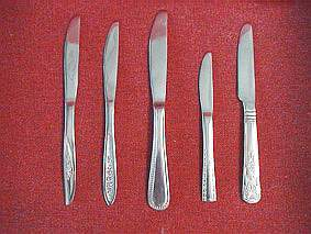 Sell a good stocklot of stainless steel table knives