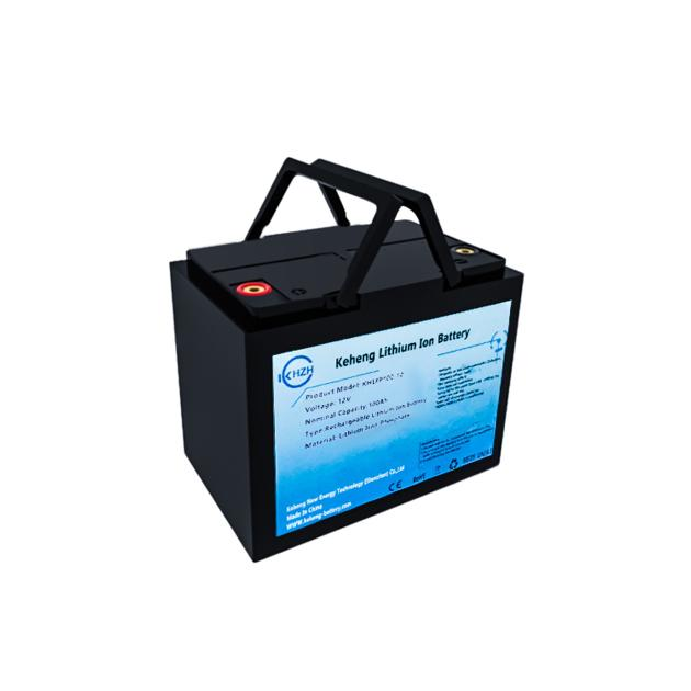 12V 100Ah Lithium LiFePO4 Deep Cycle Rechargeable Battery pack with BMS