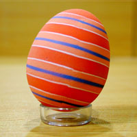 Easter color egg