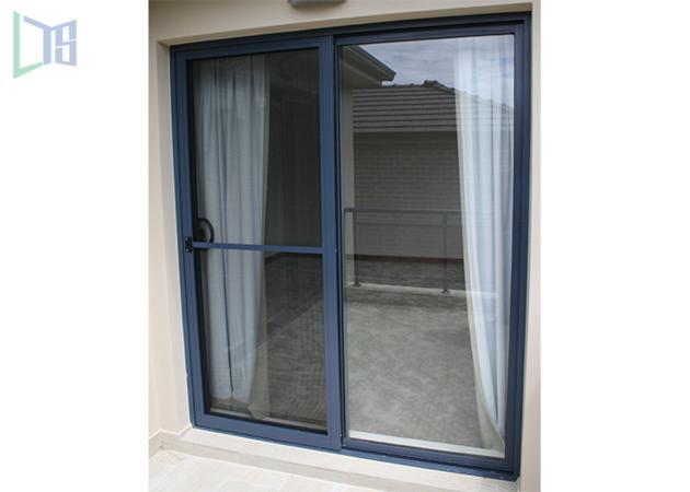 Balcony / Kitchen Aluminium Sliding Doors Soundproof Japanese Style For  Hospital