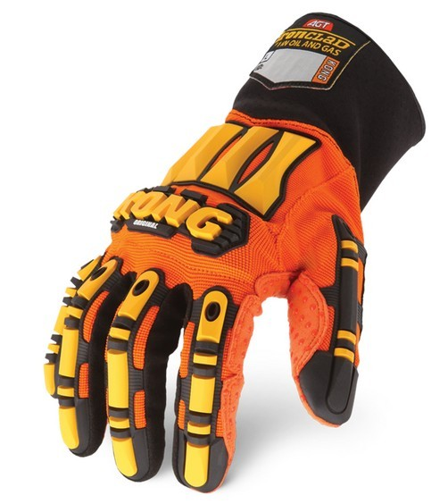 Ironclad Kong original Sdx2 Working Gloves Oil And Gas Impact Gloves TPR Protection Gloves