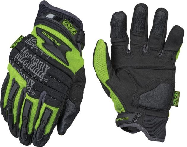 Safety M-Pact 2 Gloves Heavy Duty Protection Hi-Vizibility Gloves
