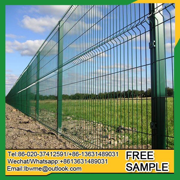 4x4 welded wire mesh fence curved fencing - Foreign Trade Online