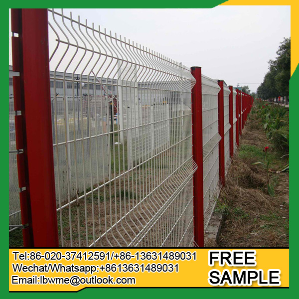 Townsville modern fence design / 3d fence panels for sale