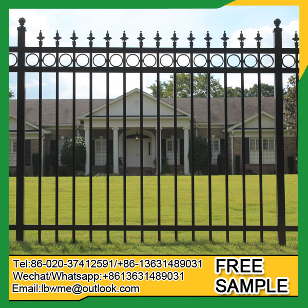 Mackay steel fence ornamental picket fencing