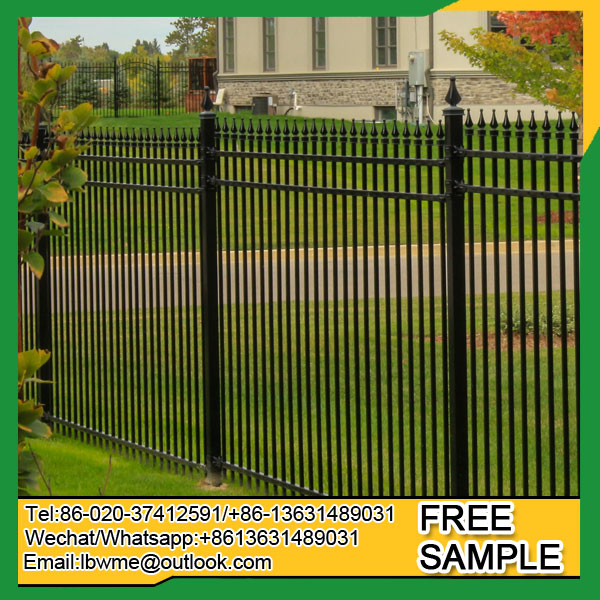 Mt. Isa wrought iron fence modern picket fencing