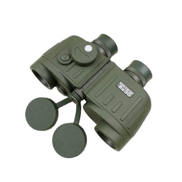 8×30 Hunting Rangefinder Binocular with Compass