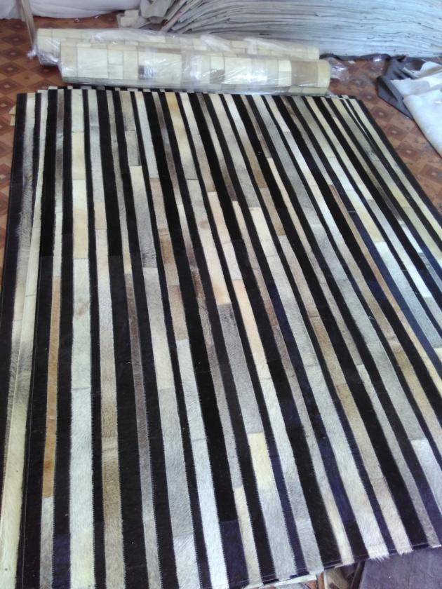 Leather Carpet Rugs Cowhide Rugs Patchwork