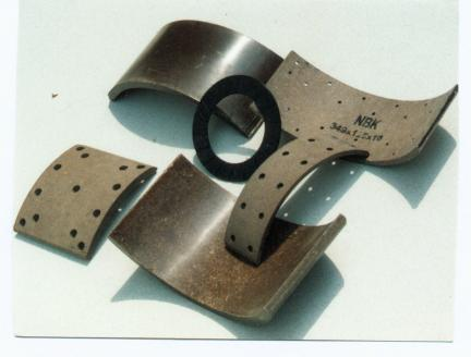 NON-ASBESTOS METALLIC DISC BRAKE PADS