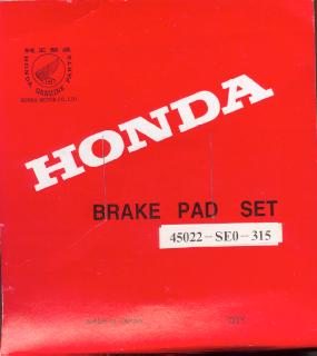 Performance Brake Pad Sets