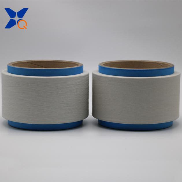 white metal oxide conductive nylon fiber filaments 20D/3F for anti static yarn-XT11340
