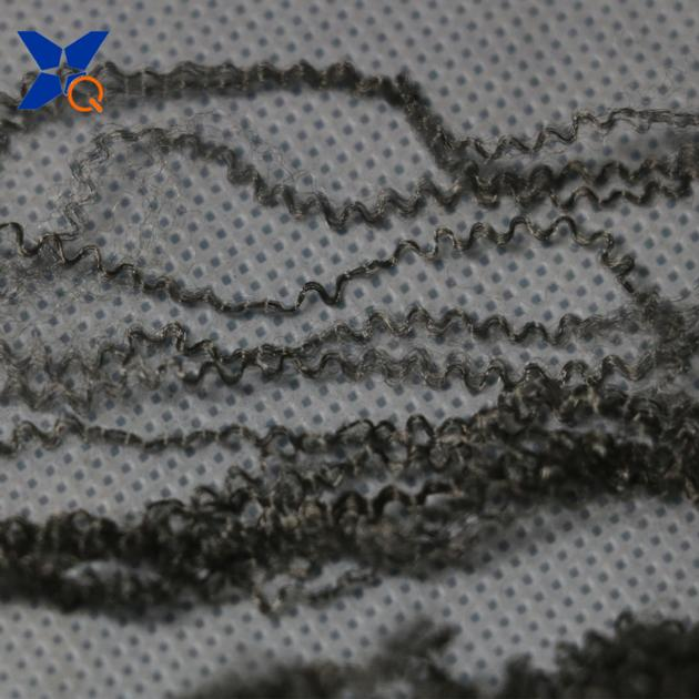 Silver plated conductive nylon fiber blended with cotton Anti-Static anti bacteria&ESD-XT11855