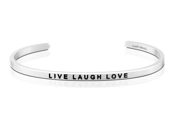 Live Laugh Love Bracelet Inspirational Bangles