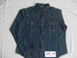 100% COTTON 6.5 OZ DENIM SHIRT