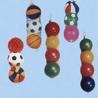PVC Toy Balls Packed in Mesh Bags(NC-PP)