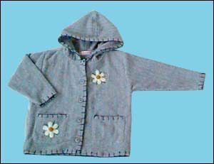 children garment, knitting garment