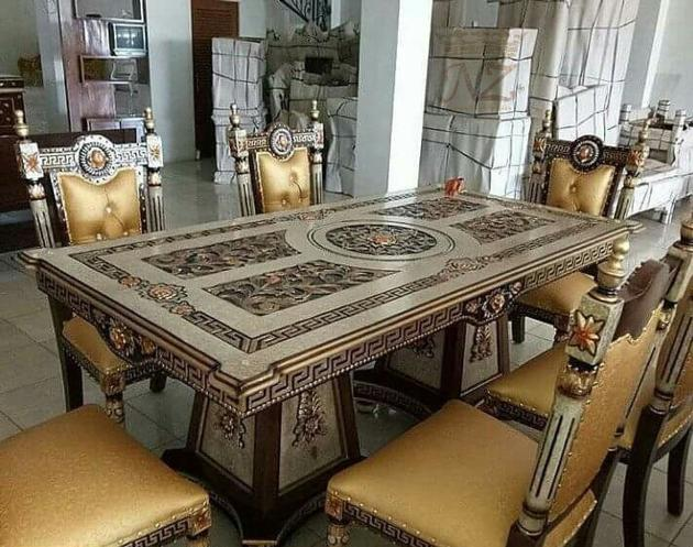 The Versace Dining Table