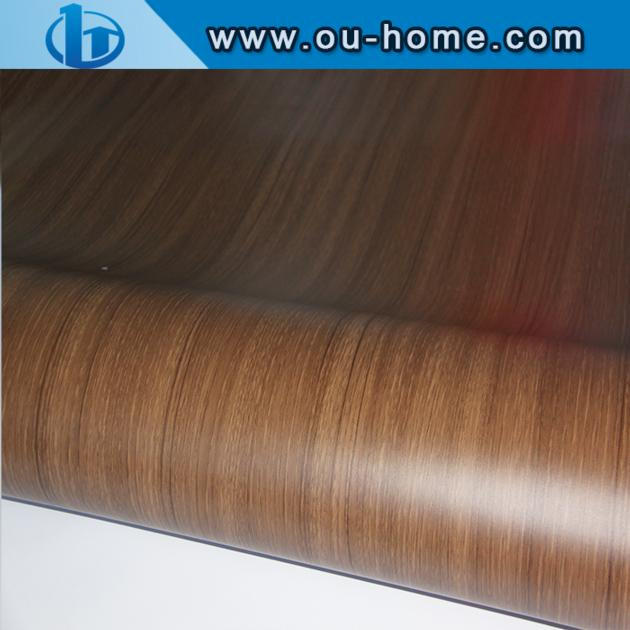 High Gloss Wood Gain PVC Ceiling Film and PVC lamination wall panel film