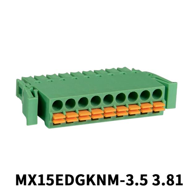 2-20P Screwless Pluggable Terminal Block