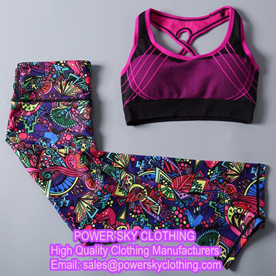Yoga Suits From Power Sky Clothing Manufacturers