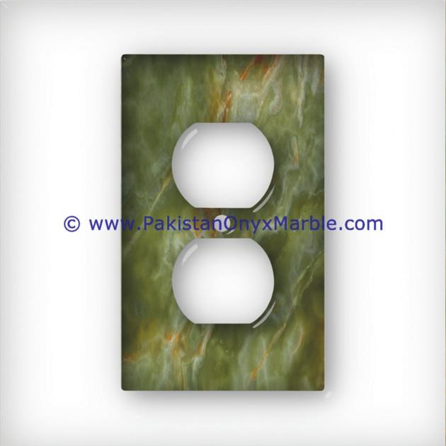ONYX SWITCH PLATE COVER ROOM HOME DECOR