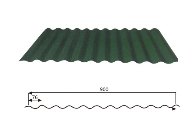 Corrugated Steel Roofing sheet (Wave Style) 17-76-900,Steel Wave Tiles ,Steel Roofing Sheet Manufact
