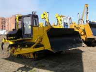 Tractor for land reclamation jobs with dozer and ripping equipment  TM-25.01