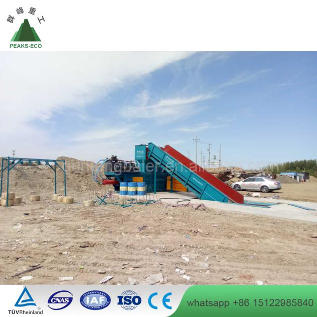 Hydraulic Scrap Metal Baling Machines with Ce Certificate