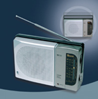 .Portable Radio with 3inch speaker
