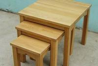 nesting stool set of three