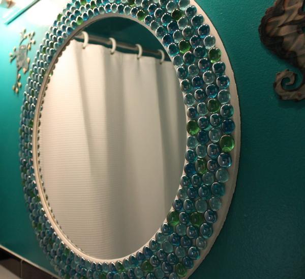Оформление для зеркал своими руками 662