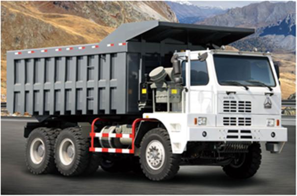 Sinotruk Howo 6x4 Dump Truck 336-371hp , Loading Mud